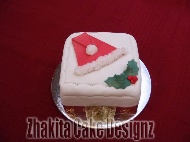 christmas cakes - cake designs - Zhakita Cake Designz